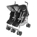 Babymarkt – MACLAREN Geschwisterwagen Twin Techno Black ab Geburt