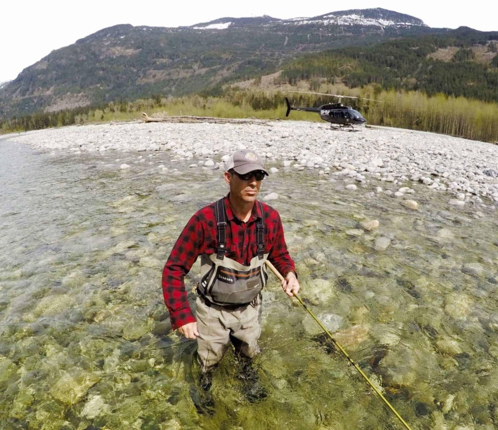 Heli Fishing Pitt River BC