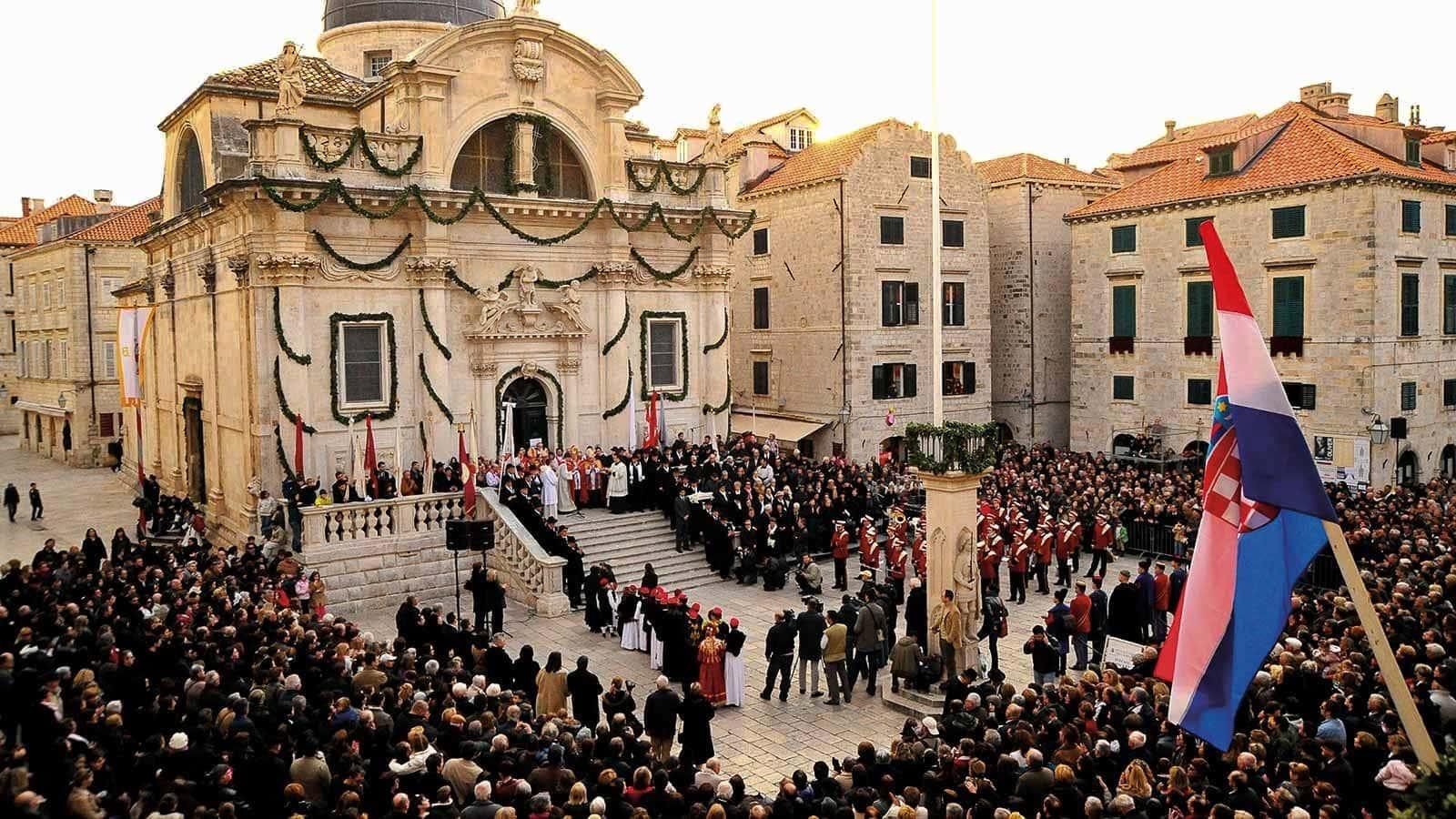 Festival of Saint Blaise - Sveti Vlaha, Dubrovnik, Croatia