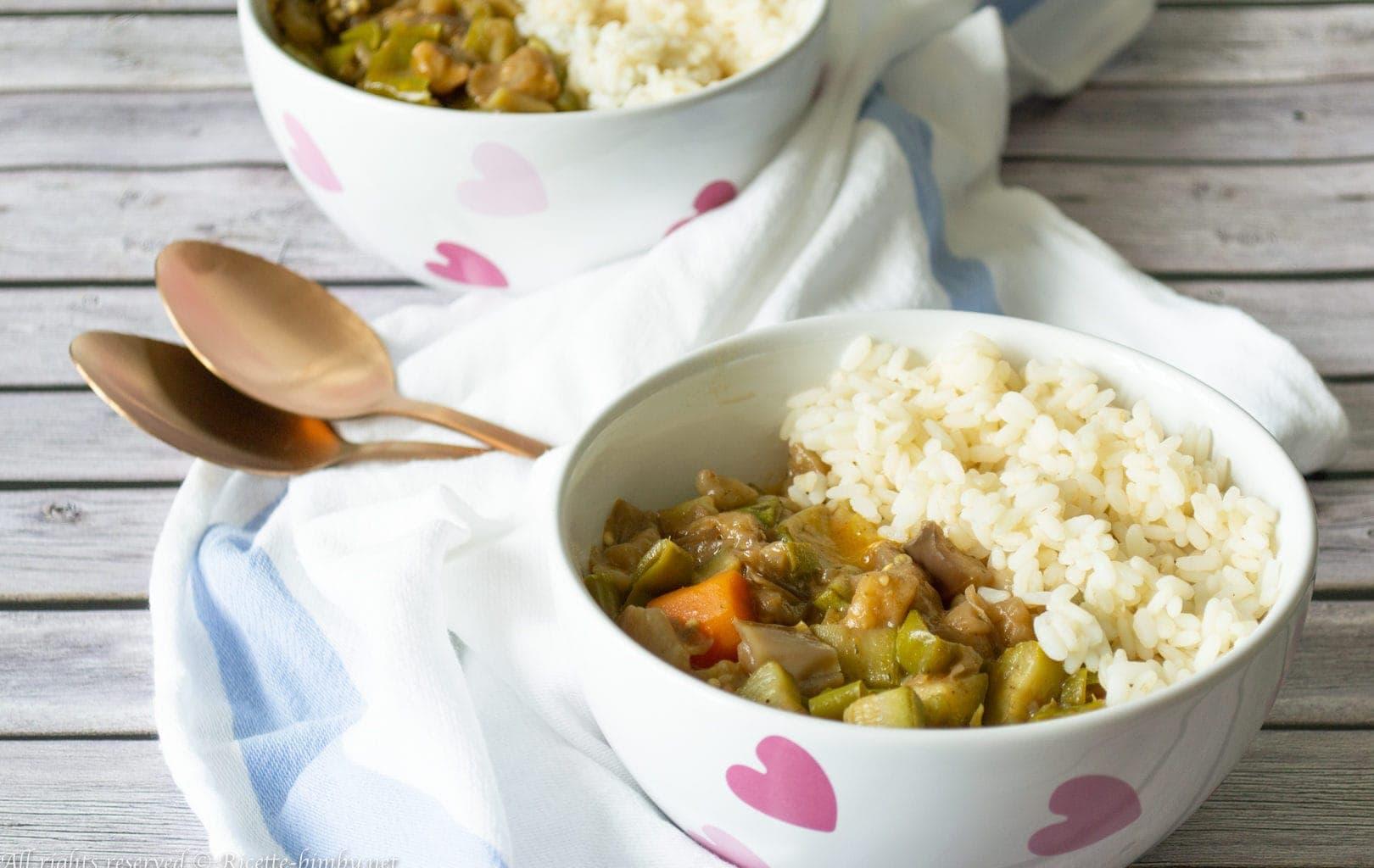 Curry di verdure Bimby