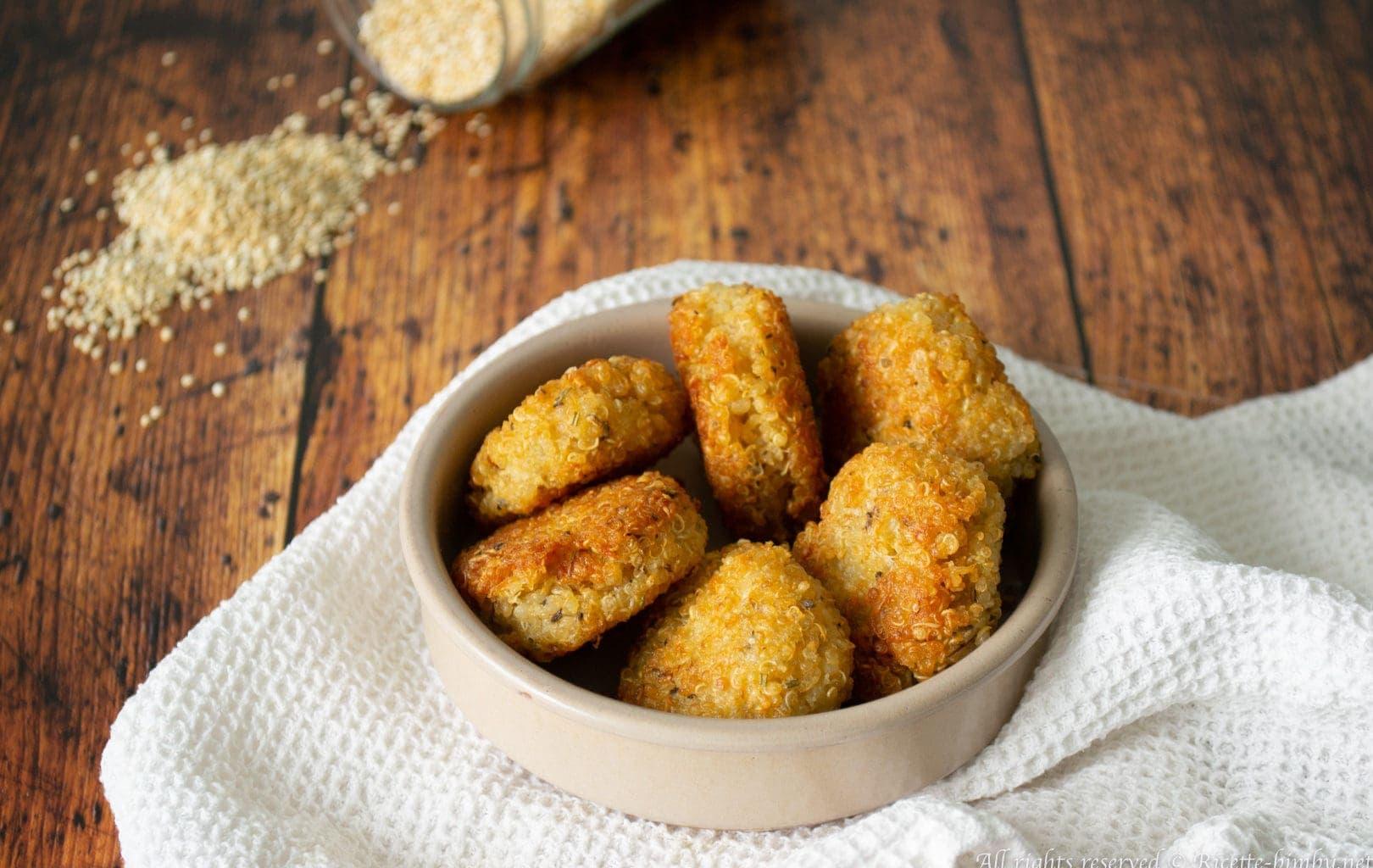 Frittelle di quinoa Bimby