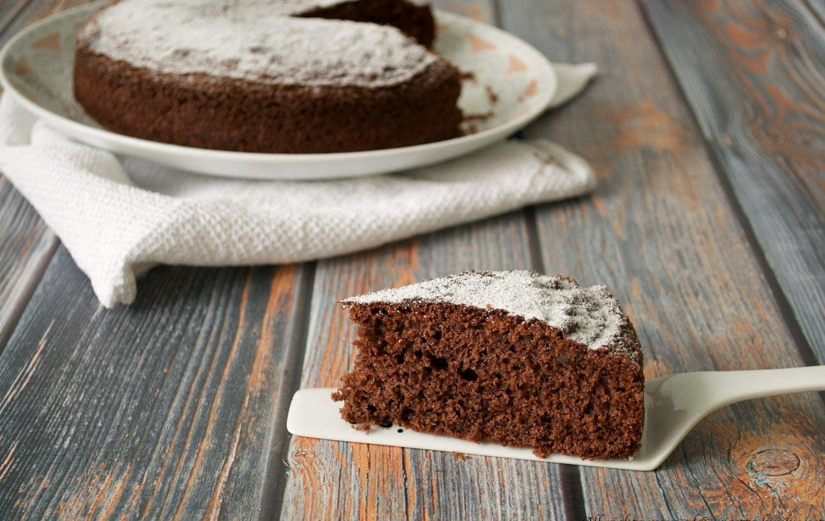 Torta 7 vasetti al cioccolato Bimby