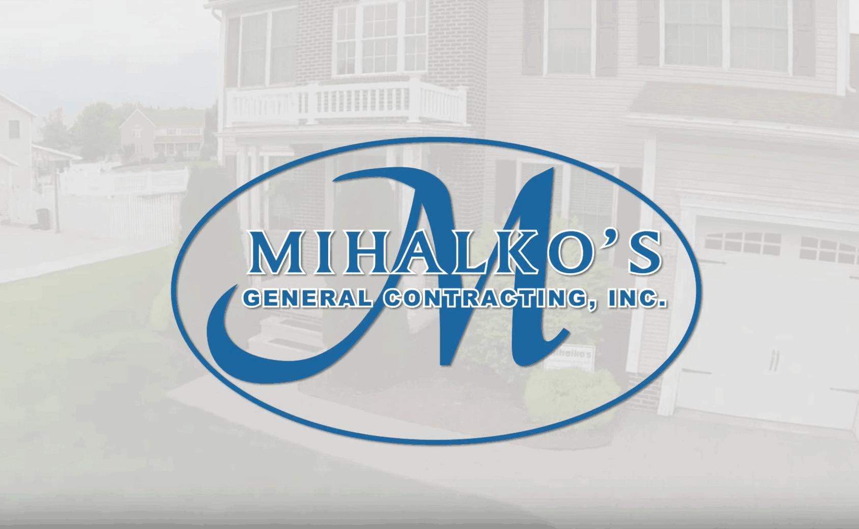 Still from Mihalko's General Contracting exterior remodeling and financing commercial