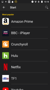 List of streaming services that can be unblocked