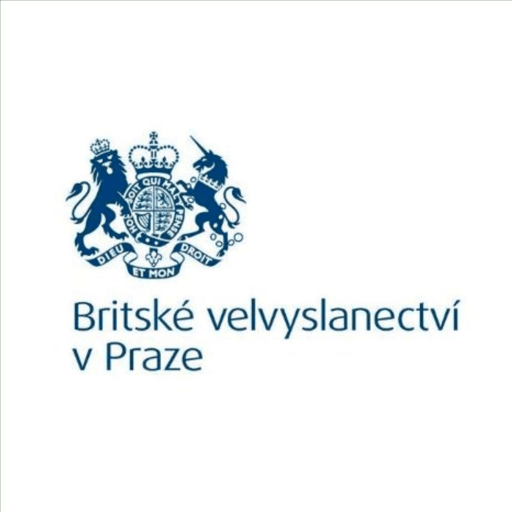 Logo Britského velvyslanectví