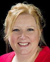 Heather Manlick, receptionist