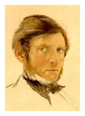 The photograph of the self portrait of Ruskin is believed to be inthe public domain - Wikipedia Commons - File:John_Ruskin_self_portrait_1861