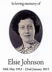 The Life and Times of Elsie Johnson