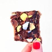 Cadbury Mini Egg Bark from The Salted Cookie