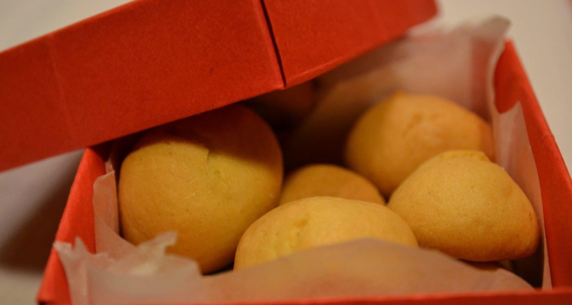 Biscotti della nonna all'arancia Bimby