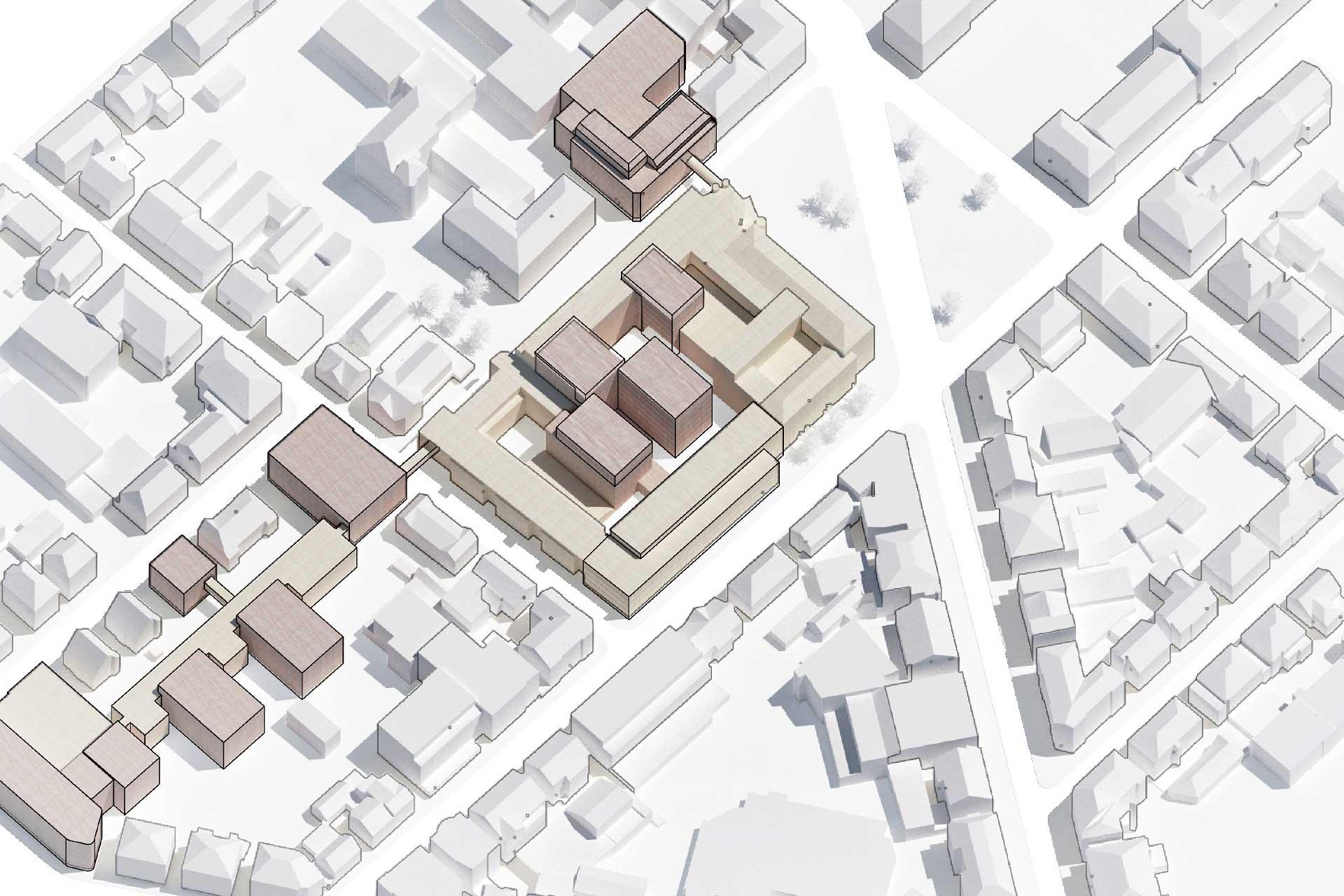 Erweiterungsbau Sparkasse Ludwigsburg Bebauungsplan