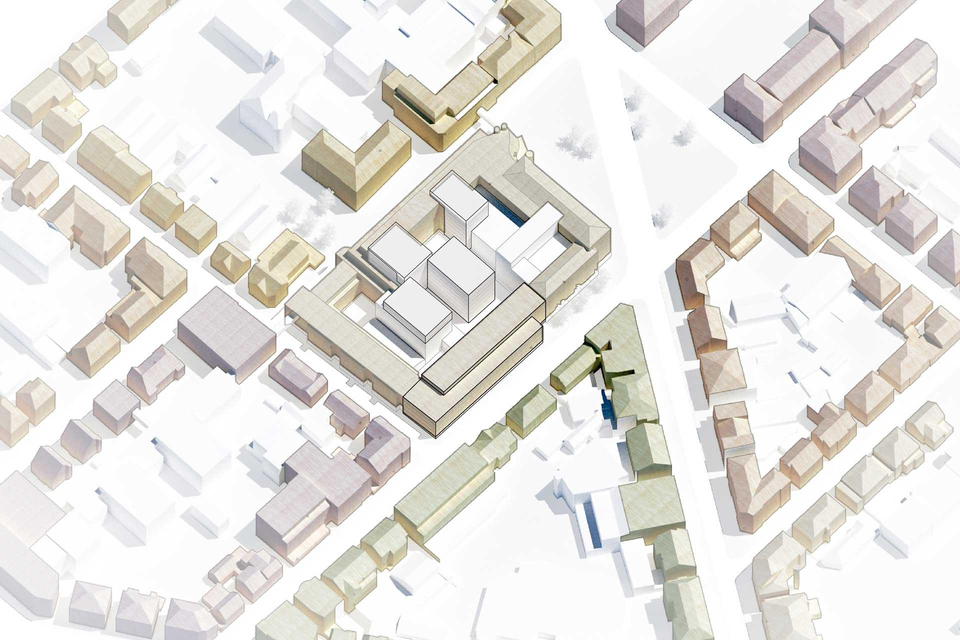 Erweiterungsbau Sparkasse Ludwigsburg Blockraender