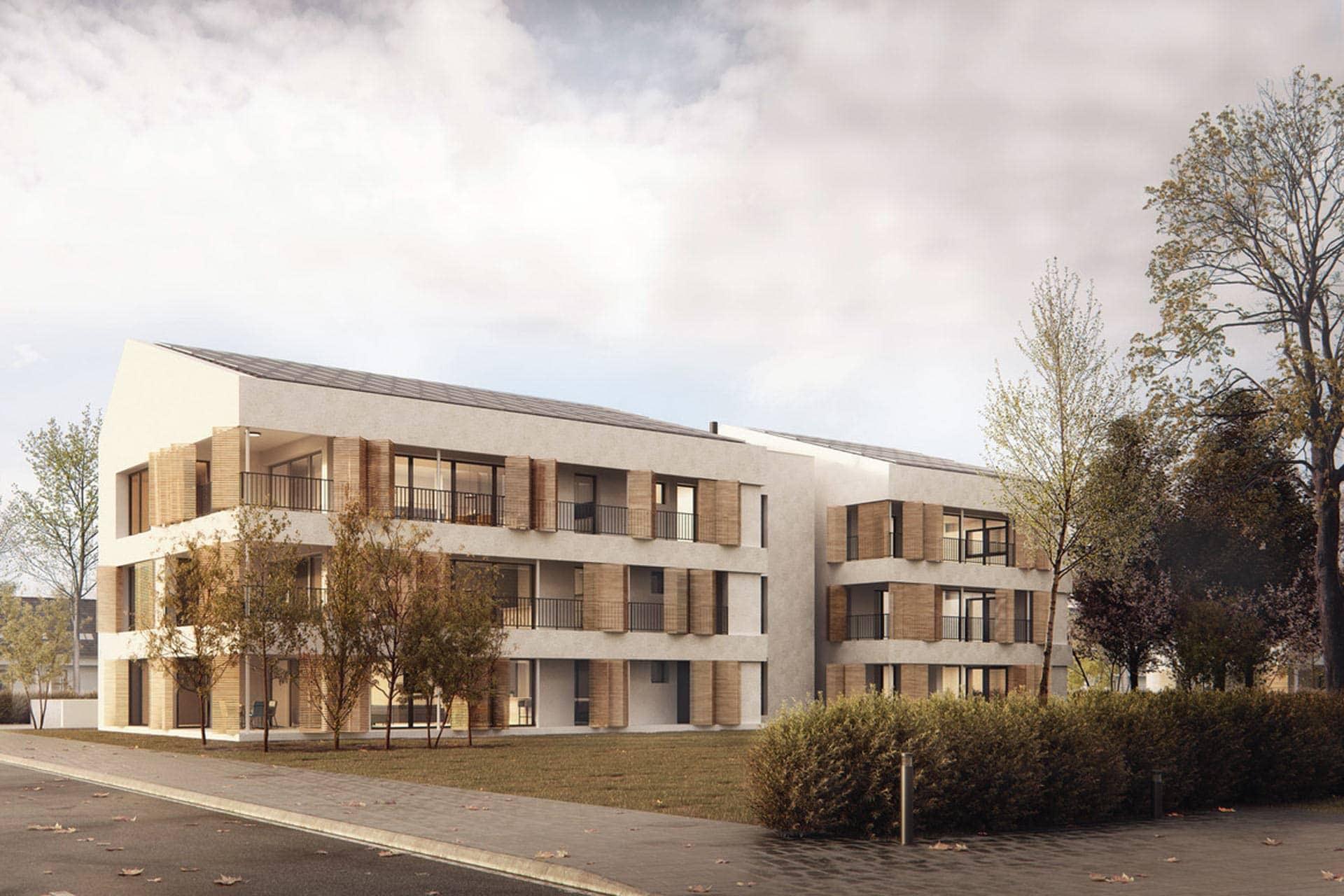 Baufritz-Wohnungsbau, Memmingen, Aldinger Architekten