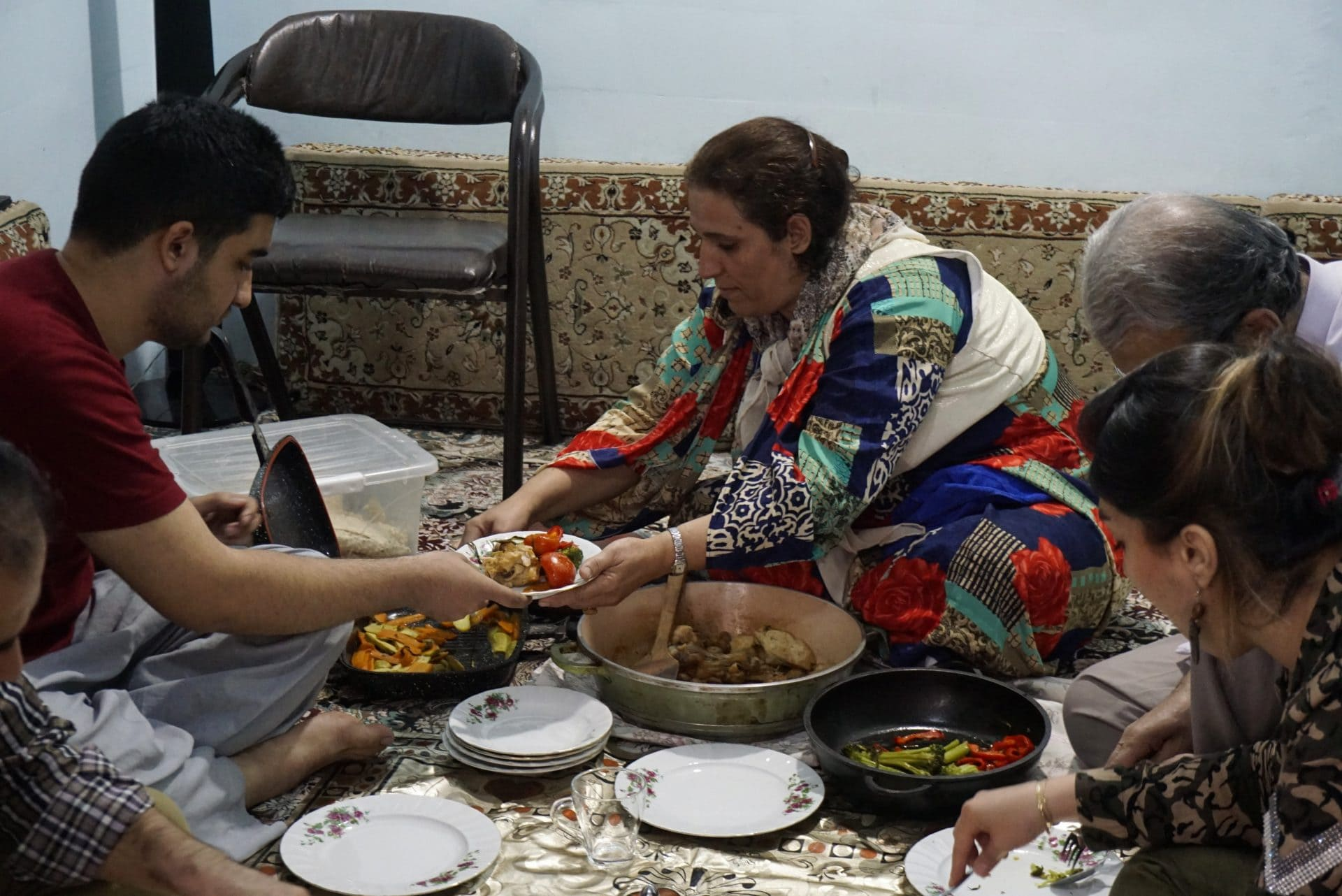 Eating in Iran