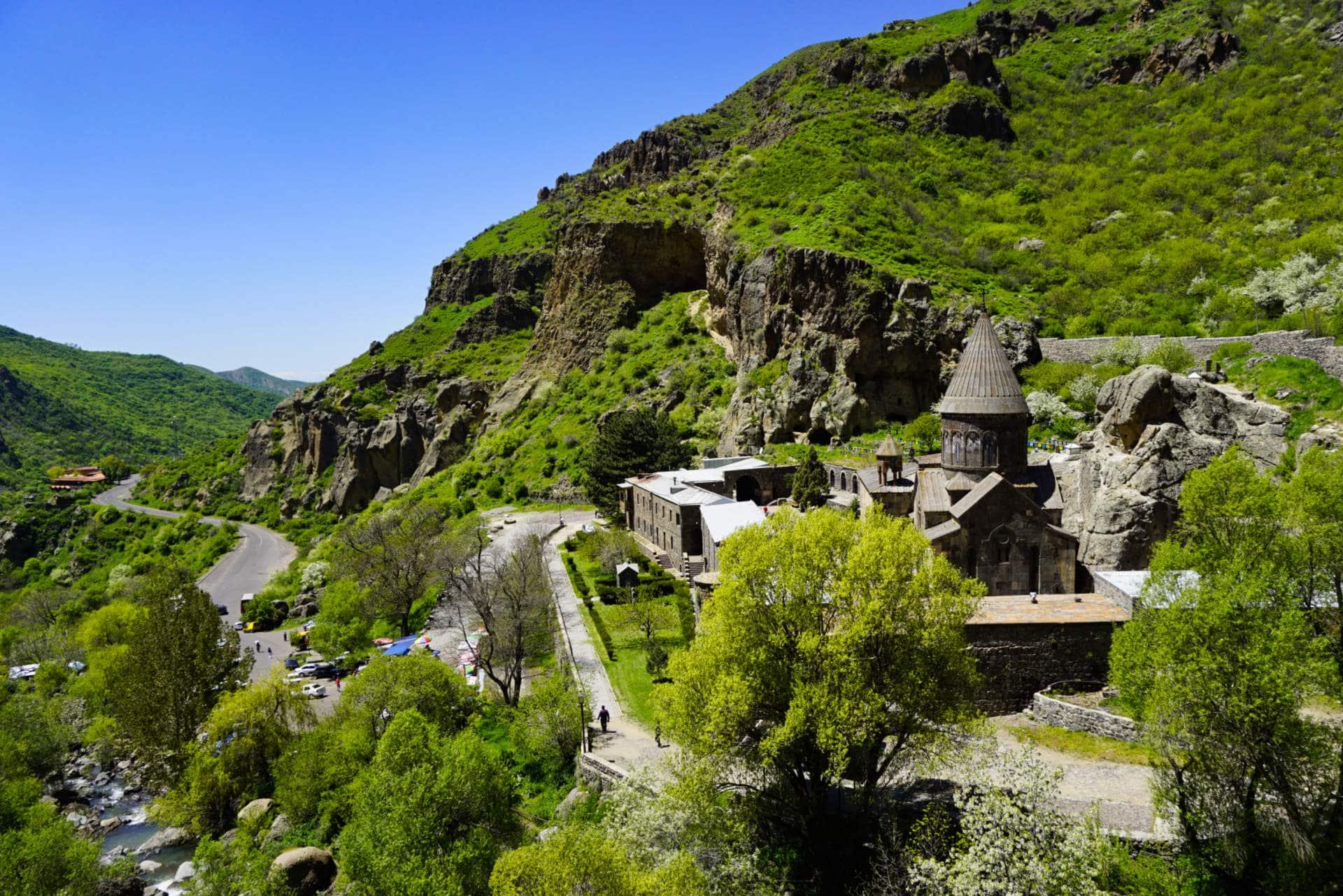 Geghard monastery, Armenia - Experiencing the Globe