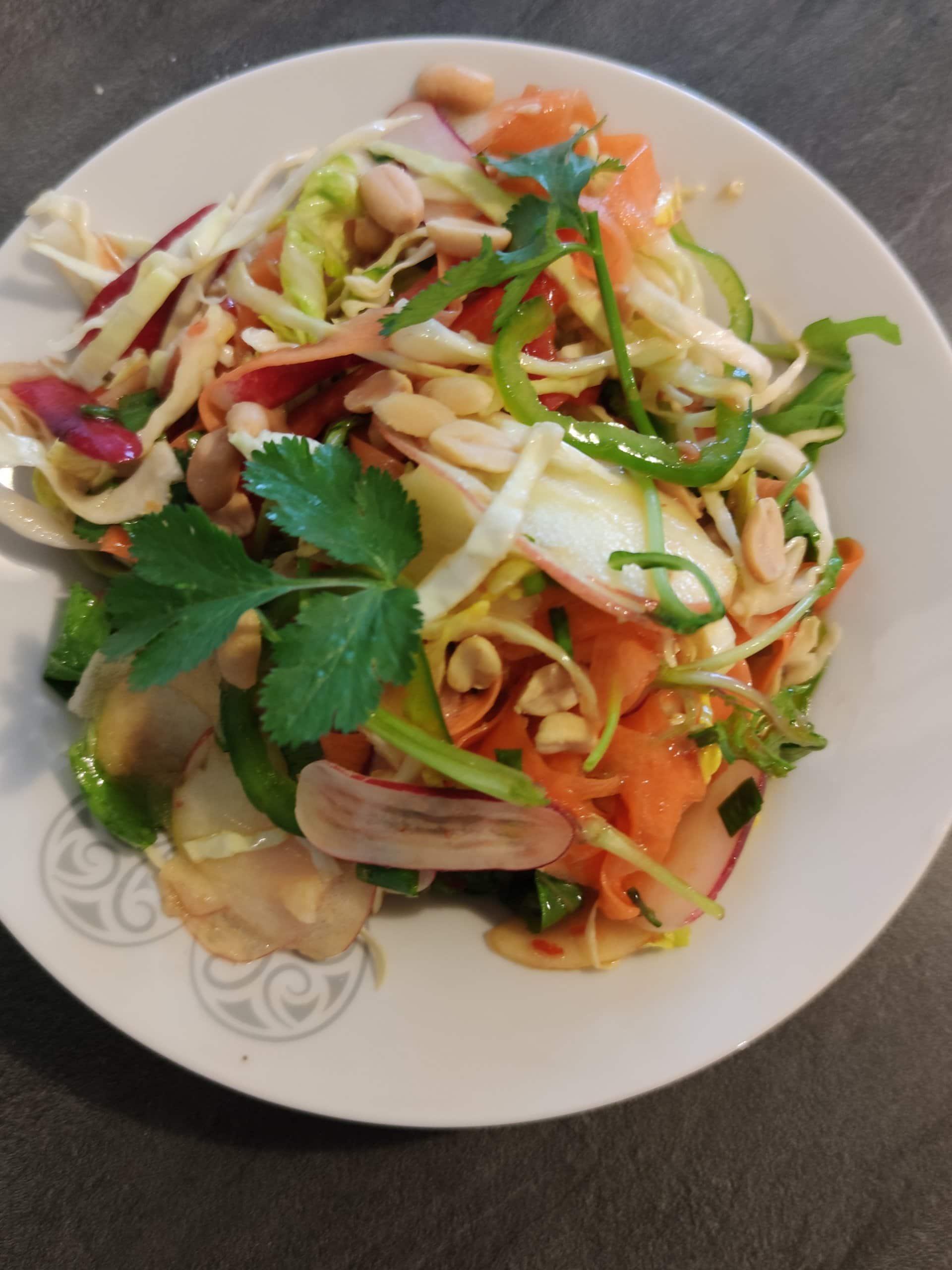 photo de Salade sauce asiatique