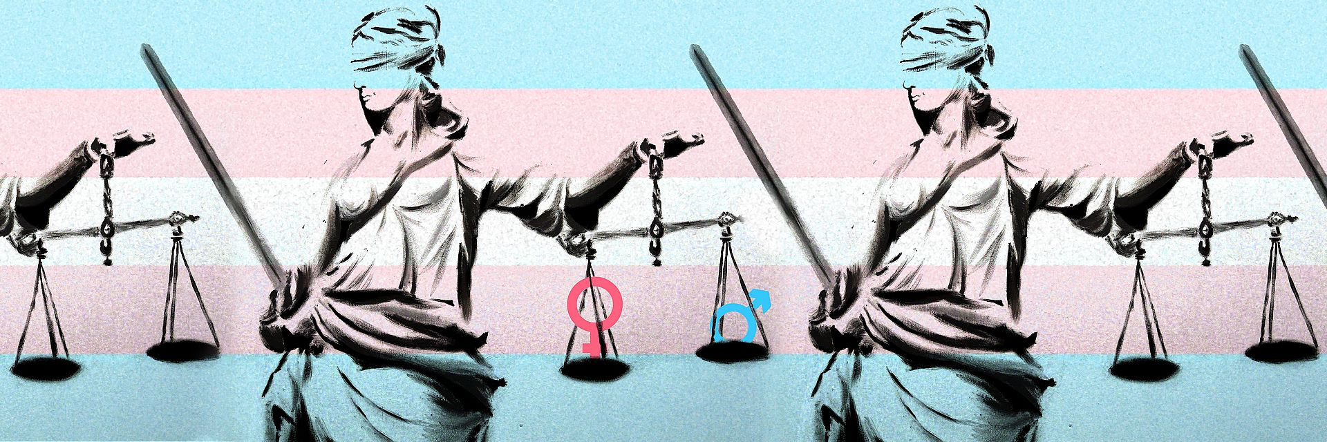 Temida sprawiedliwości - ustalenie płci