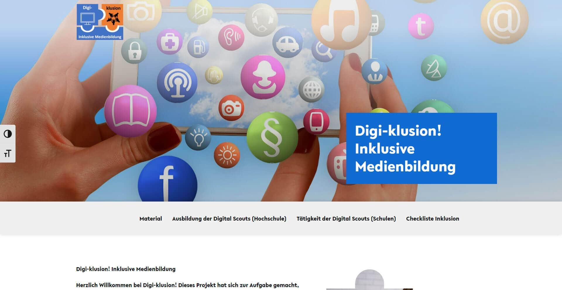 Digi-Klusion - WordPress Webdesign Referenz