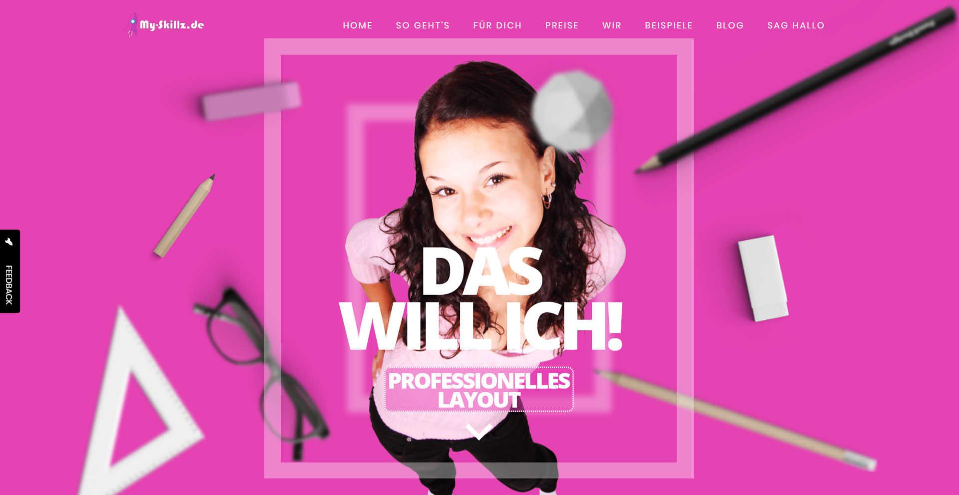 My Skillz - Webdesign für Bewerber - Ibbenbüren