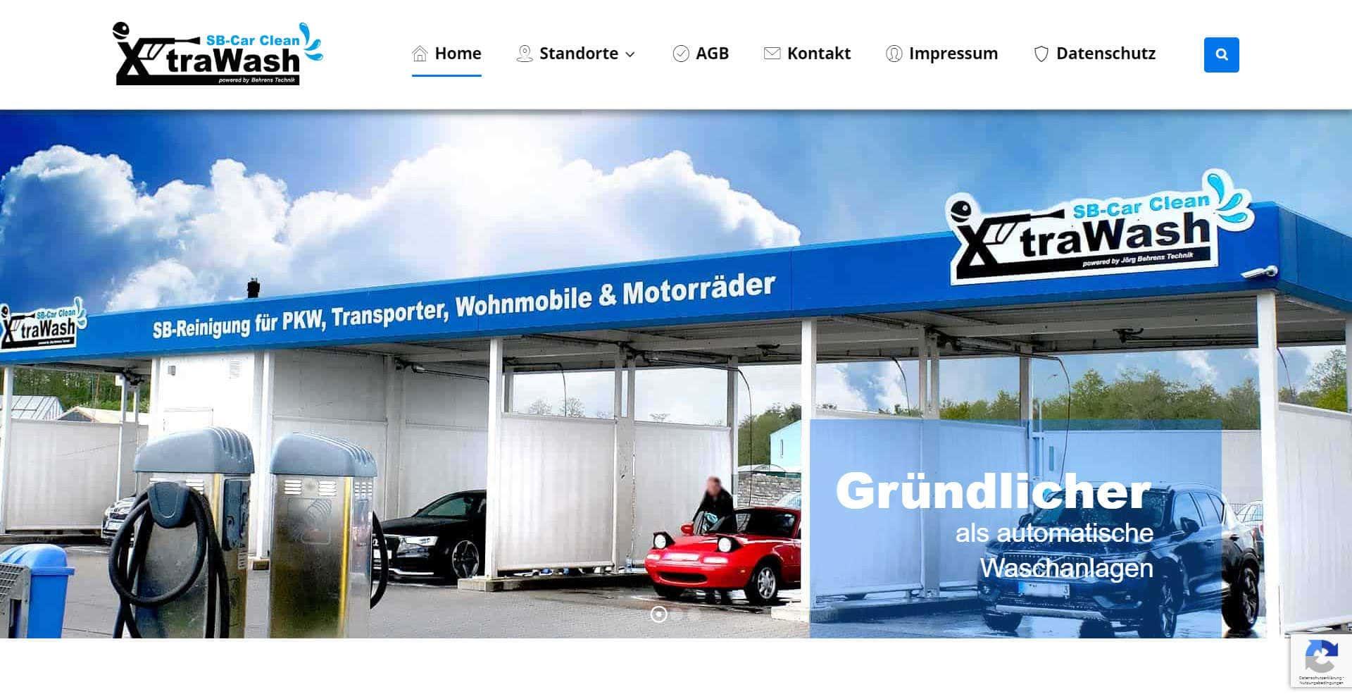 XtraWash - SB Autowäsche - Schüttorf, Rheine, Shortens, Bad Marienberg
