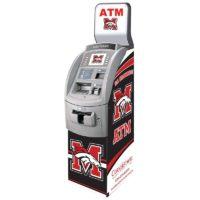 Hyosung NH1800 Flat Top Custom SharkSkin ATM Wrap