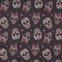 Calaveras-sonrientes-algodón-primera-calidad-telas-con-calaveras
