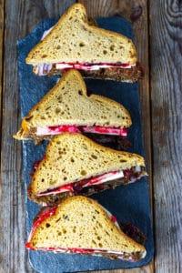 Vegan Meat Loaf Sandwich