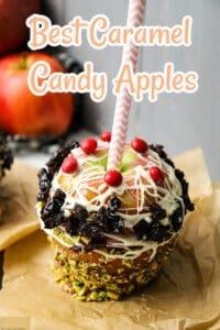 Best Caramel Candy Apples