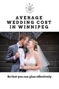 Average Wedding Cost in Winnipeg