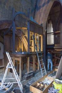 Herbouw St. Urbanuskerk Bovenkerk - ontmantelen