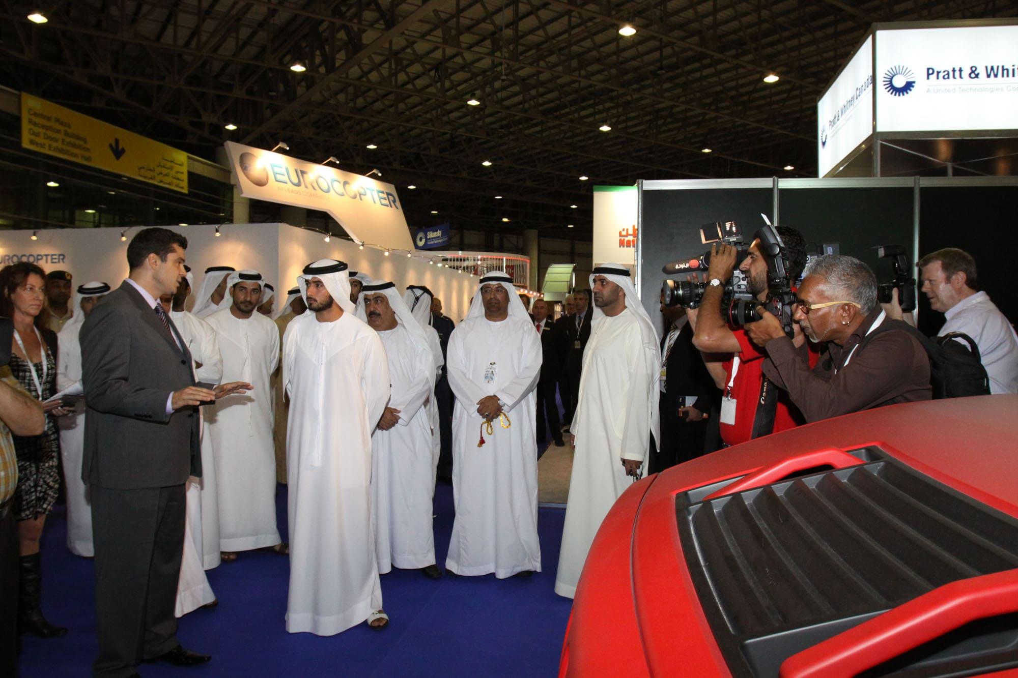 Dubai HeliShow Sheikh Madjid
