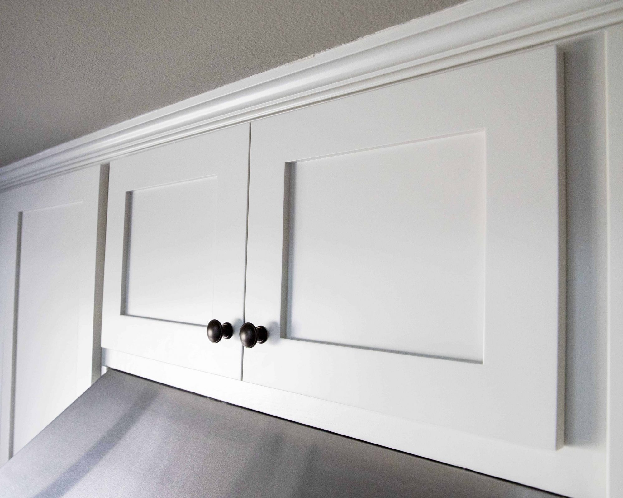 cabinet refacing on Newhall home