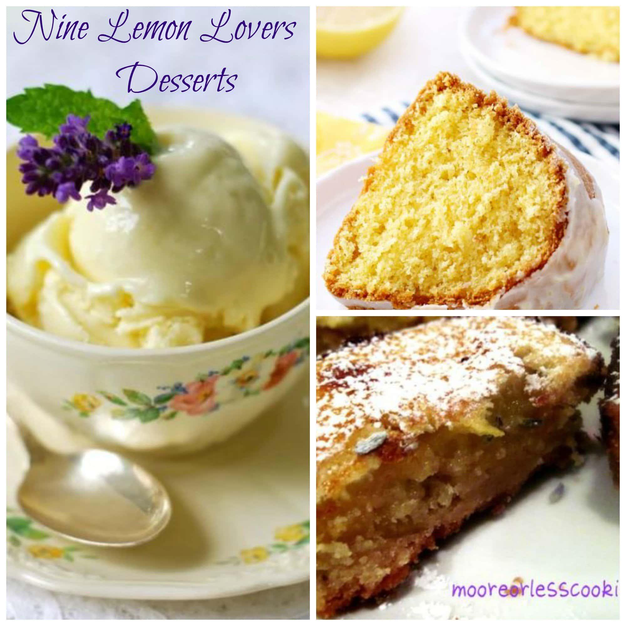 9 Desserts Just for Lemon Lovers