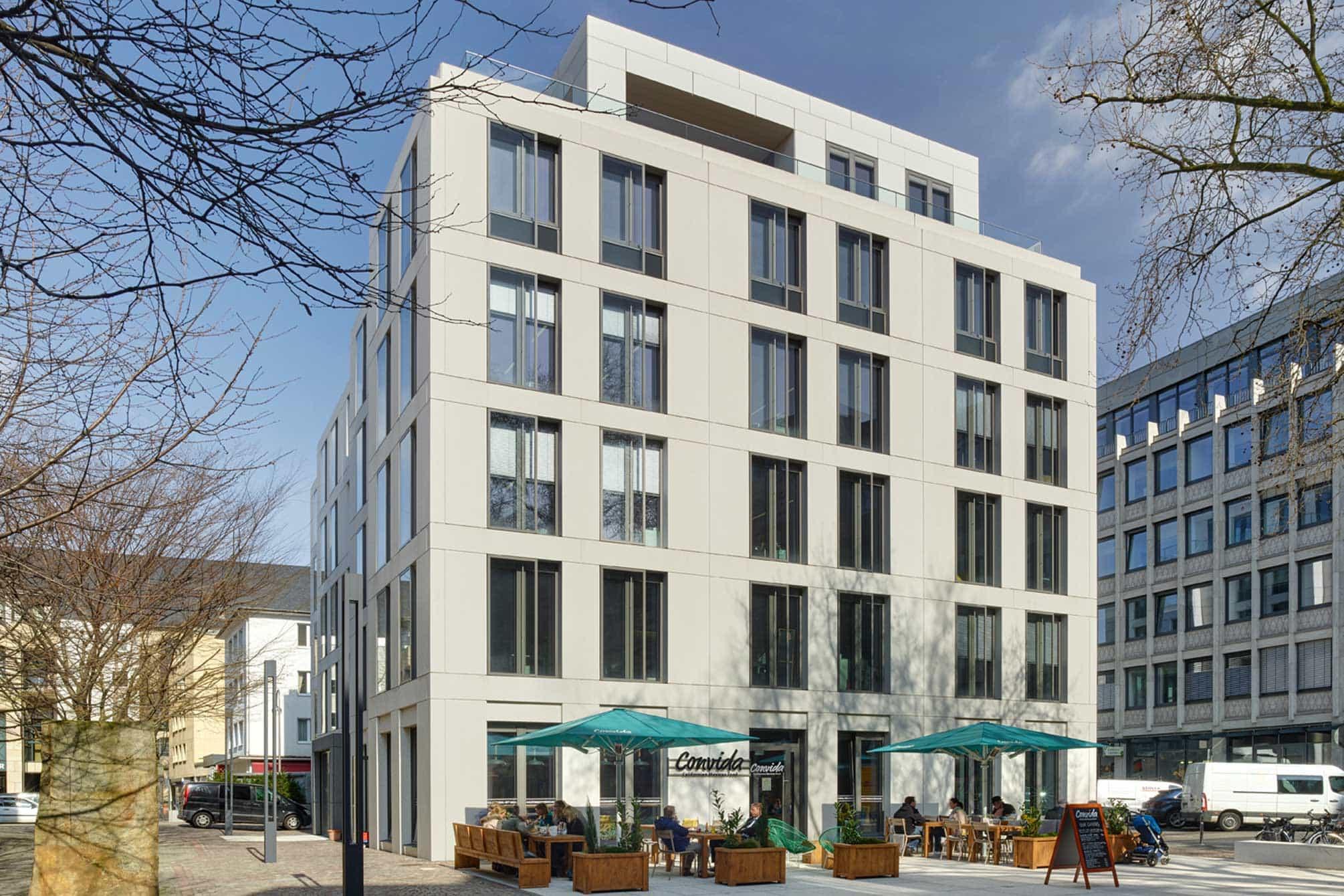 WDR Stammhaus in Köln Außenansicht