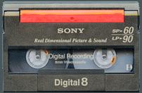 Digital 8 Transfer, Digital 8 to DVD, Digital 8 to Digital, Digital 8 to USB