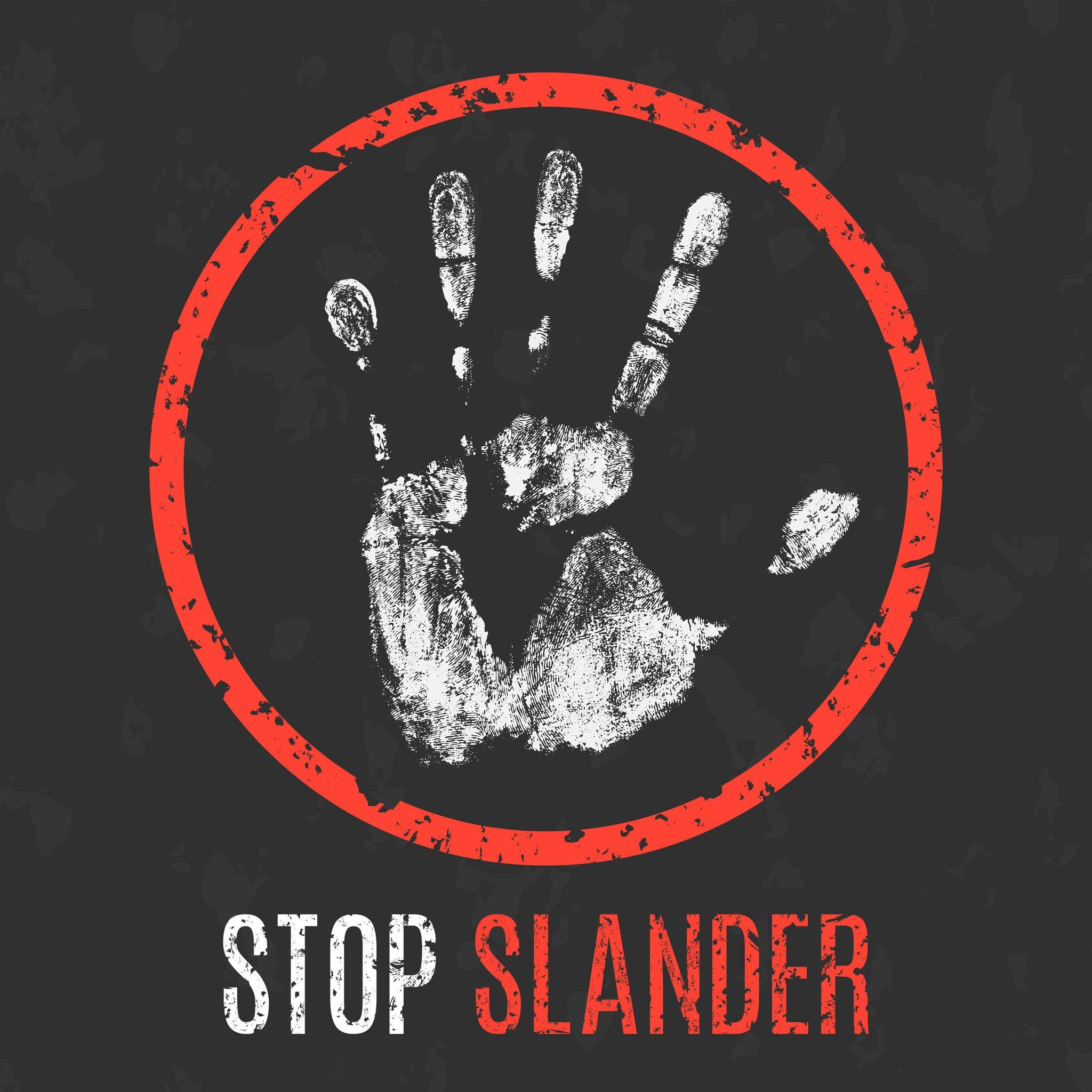 Stop Internet Slander, Defamation, Libel
