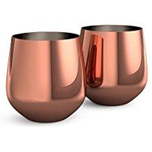 utensilios-de-cocina-de-cobre-vasos