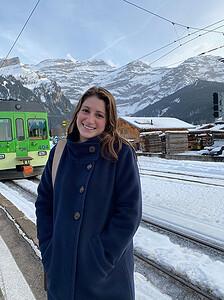 Molly in Switzerland