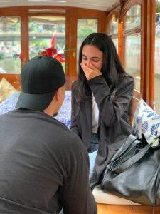 Huwelijksaanzoek boot Amsterdam