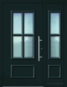 Haustür mit Seitenteil