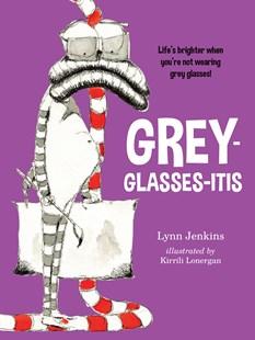 Grey glasses-itis kids book