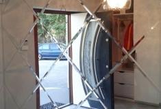 Projektowanie-wnętrz-lustro-fazowane-romby-