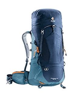 blue Deuter Aircontact Lite backpack