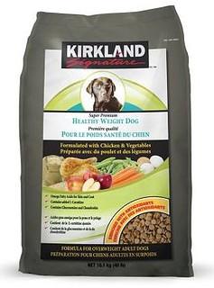 Kirkland Signature Healthy Weight Dog Food