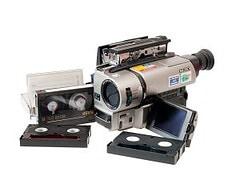 Camcorder tapes transfer to dvd or digital Ayr