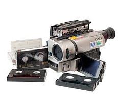 Camcorder tapes transfer to dvd or digital Grangemouth