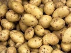 potato peeled