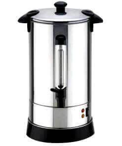 urn water boiler silver