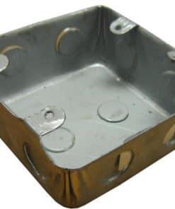 Wall Box Steel 4 x 4 inch