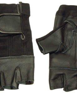 Gym Leather Gloves Stretch